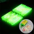 15pcs 20pcs Mini Fishing Floats Light Stick Night Float Glow Fishing Floats Fishing Tackles Tube Indicator