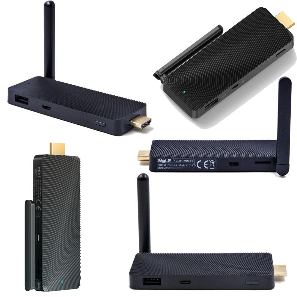 MeLE PCG01 Quad Core Fanless Mini PC Compute Stick TV Dongle Windows 8.1 for Intel Baytrail-T Z3735F 2GB / 32GB WIFI Bluetooth(China (Mainland))