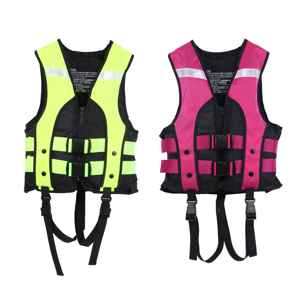 Child Water Sports Life Vest Jackets Children's Lifejacket Fishing Life Saving Vest Inflatable Life Jacket For Boating Surfing(China (Mainland))