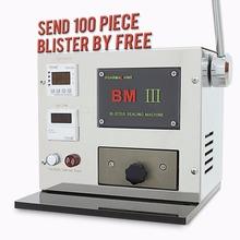 110V 60HZ Pro Mini manual Blister Maker BM III aluminium plastic blister font b packaging