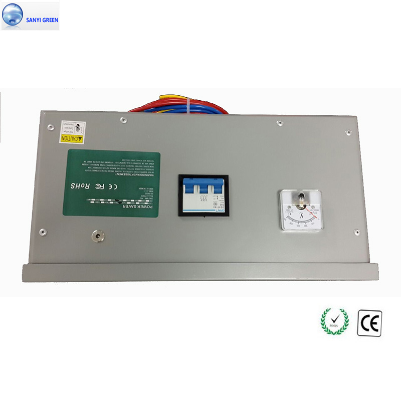 High capacity 600KW Power Saver 3 Phase For Industrial Commercial Electricity Energy Saving Device Voltage Stabilizer(China (Mainland))