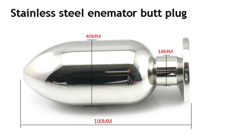 product stainless steel metal anal plug backyard .