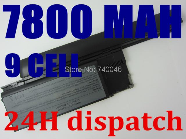 7800mah 9cells Laptop Battery For Dell Latitude D620 D630 D630c Precision M2300 Latitude D630 ATG D630 UMA UD088 TG226 TD175(China (Mainland))