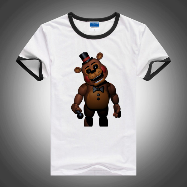 2015 new five nights at freddys children t shirts boys tees tops kids