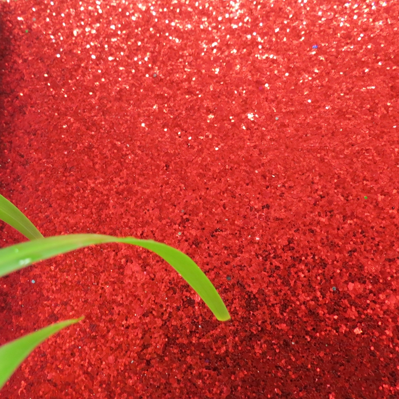 7m one roll grade 3 chunky red glitter wallpaper light reflection fancy wallpaper manufacturer(China (Mainland))