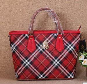 2014 New European and American fashion brand of high quality leather shoulder bag women handbags plaid bag
