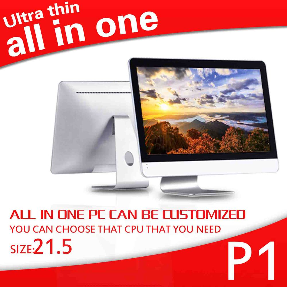 """21.5"""" wifi dual core 4g ram tablet PC all in one pc Intel Celeron Linux all in one computer(China (Mainland))"""