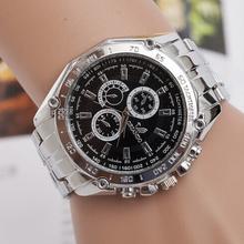 Relogios masculinos 2015 hombres reloj de moda reloj de cuarzo reloj Casual de negocios acero lleno Men Watch envío gratuito