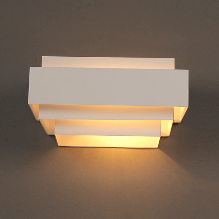 Aliexpress.com : Buy Modern White Box Wall Lamps Bedroom Bedside Wall Lights Bathroom Kitchen ...