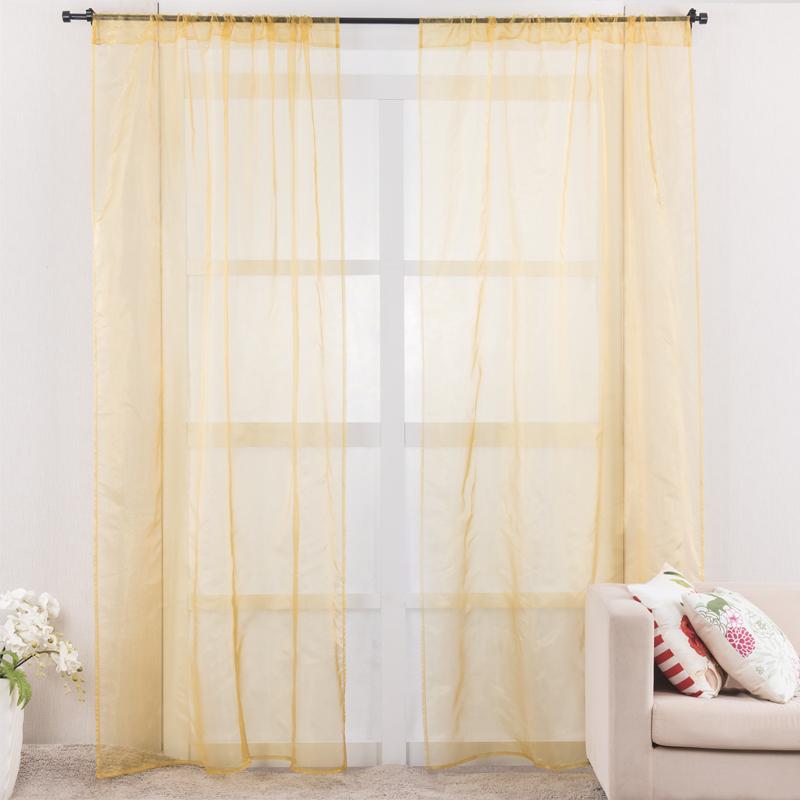 Rideau pour chambre jaune design de maison - Rideau pour chambre ...
