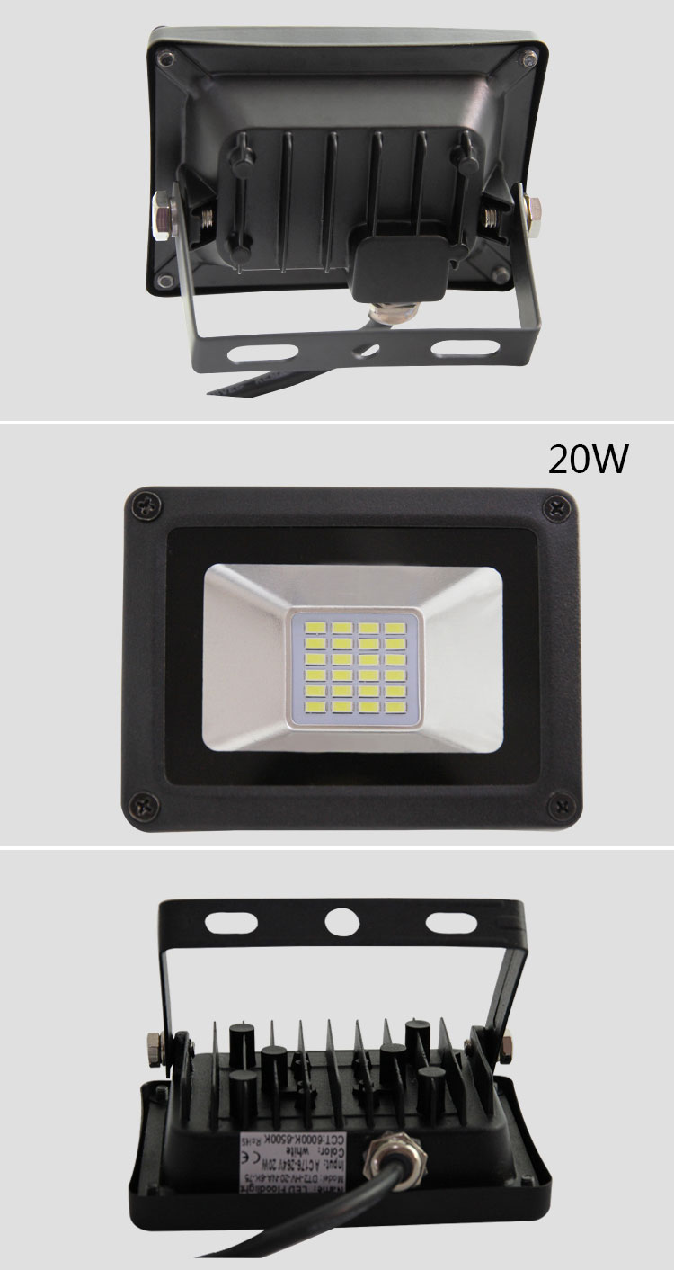 Seiko High life Super bright IP65 protection level Exterior lighting Outdoor 10w 20w 30w 50w lighting factory advertising lamp