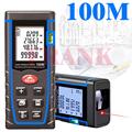 wholesale Recruit agents laser rangefinder distance meter 100 M tape range finder measure ruler Angle