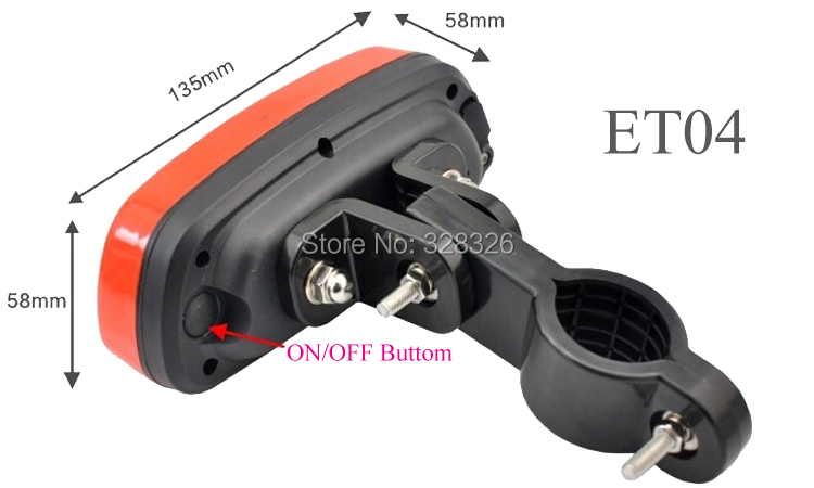 Long Battery Life bike Taillight gps tracking device ET04= T16<br><br>Aliexpress