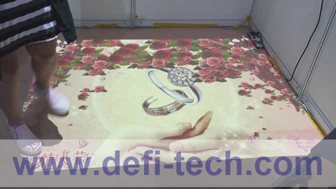 DEFI INTERACTIVE FLOOR / WALL SOFTWARE AND HARDWARE(China (Mainland))