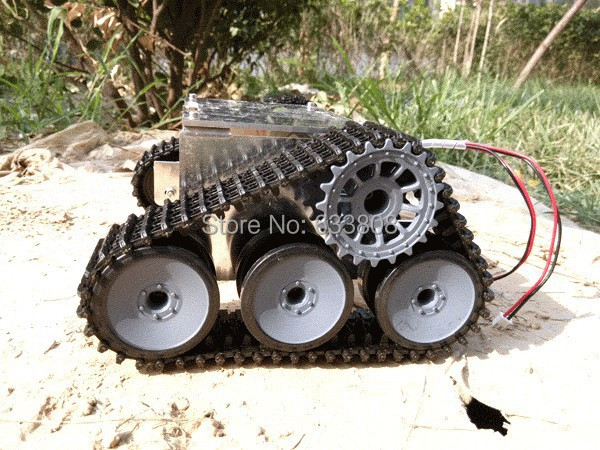Tank Car Chassis Crawler Intelligent Diy Robot Electronic Toy,development kit Tractor toy - Shenzhen HuaQiangBei Electronics store