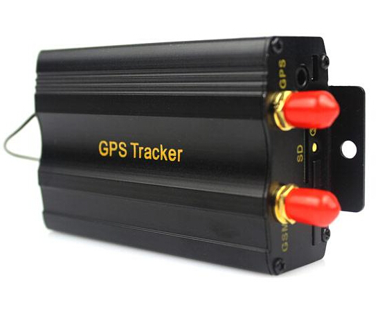 Car GPS Tracker Remote Control Cut off Fuel SD Card Quad-band Car Alarm GSM SMS GPRS Tracking Device TK103B(China (Mainland))