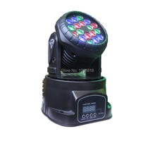 Buy  (1pcs/lot) LED wash Mini Moving Head dmx Beam Wash Spot Light Dj Disco Club Party Stage Effect Lighting for $72.00 in AliExpress store