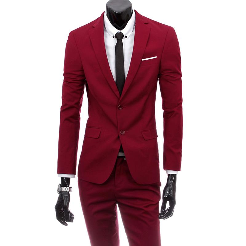 New Fashion Men Suit Brand Suits Jacket Formal Dress Menu0026#39;s Suit Set Mens Suits Wedding Groom ...