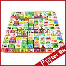 New Doulble-Side Large Baby Play Mat Baby Activity Mat Child Crawling Mat Plus Size Baby Floor Mat Cartoon Baby Blanket Rug(China (Mainland))