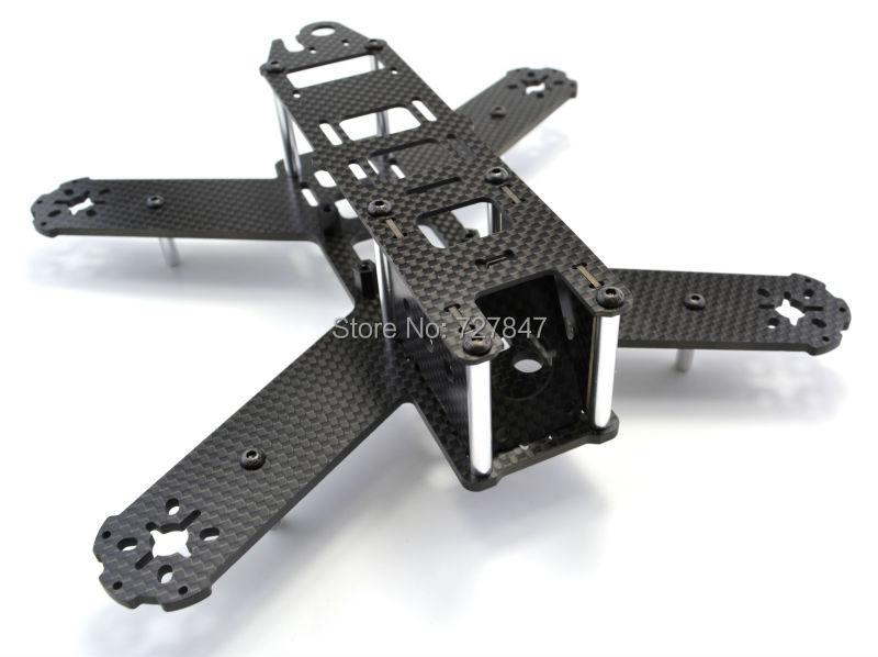 Mini 210mm 210 Pure Carbon Fiber Quadcopter Frame Kit For LS-210 QAV210(China (Mainland))