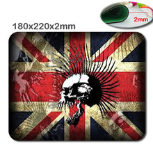 Punk Skull Computer Accessories Laptop Netbook PC Mouse Pad Mice Pad Mat Mousepad For Optical Laser Mouse