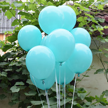 Buy Wedding Decoration Balloons Tiffany Blue Latex 50 Pcs 12 inch Air Balls Happy Birthday Party Helium Inflatable Ballons Kids 2.2g for $4.68 in AliExpress store