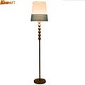 European Style Mediterranean Lamp 110V 220V E27 Literature and Art Modern Floor Lighting Foot Switch Iron