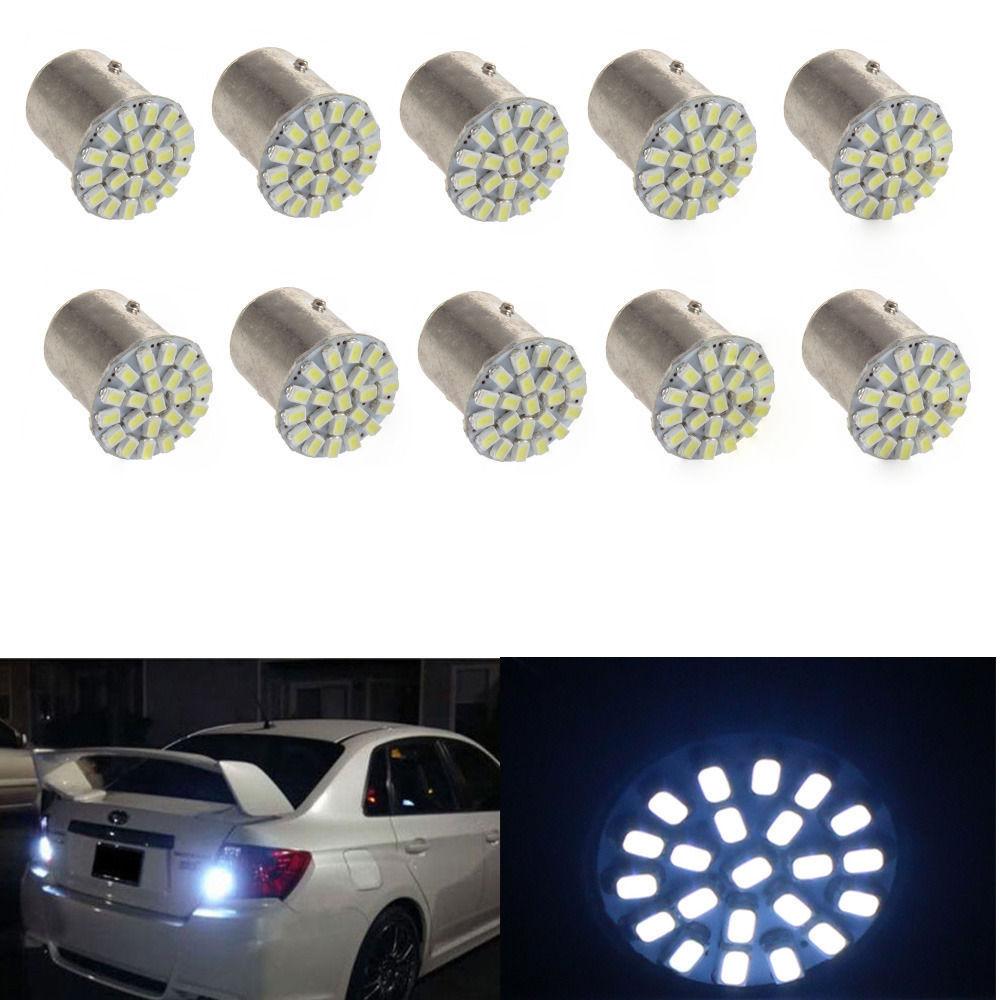 brake light lamp T20 LED strips tail lights 2PCS x 1206-22 SMD - 1156 car LED(China (Mainland))