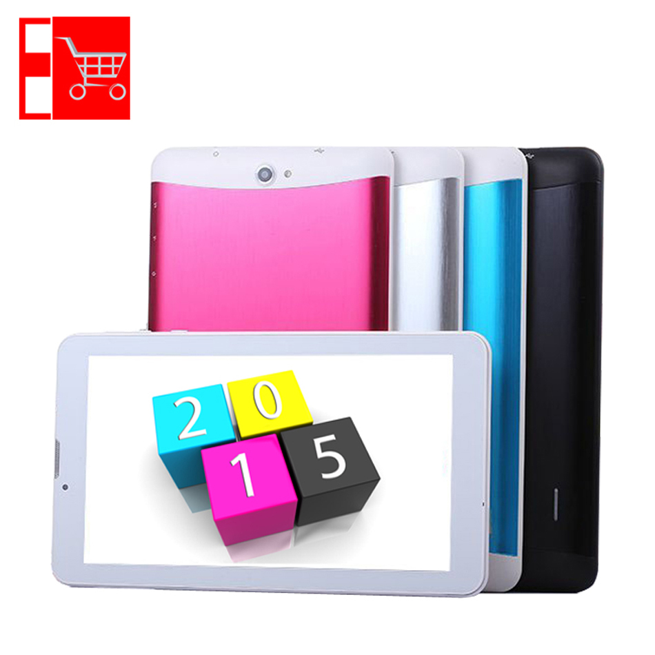 Discount 3G 1024x600 HD Display Dual Core 2 SIM Card CPU MTK6572 7 inch Android MID Free Shipping(China (Mainland))