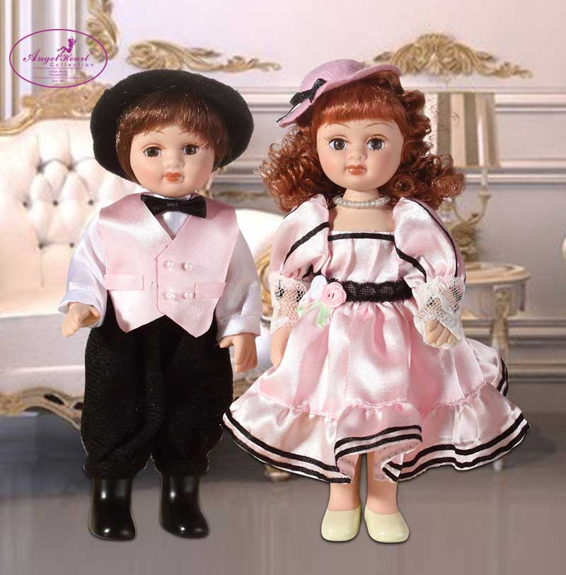 2015 New design angelheart 6.5 boy&amp;girl porcelain doll wedding gift/birthday gift/Home decoration free shipping <br><br>Aliexpress