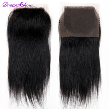 Cheapest 7a Peruvian Virgin Hair Closure 4*4 Peruvian Straight Lace Closure Cheap 3 Part Human Hair Closure With Free Shipping