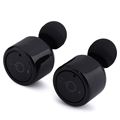 Lightweight Wireless Mini Bluetooth Earphone Invisible Cordless Bluetooth Earbuds Anti fall HiFi In ear Earphones with