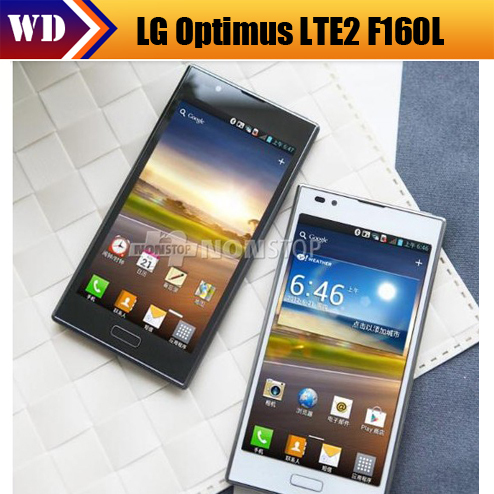 "F160 Original LG Optimus LTE2 F160L GPS WIFI 4.7"" 3G 8MP WIFI GPS Unlocked Mobile Phone(China (Mainland))"