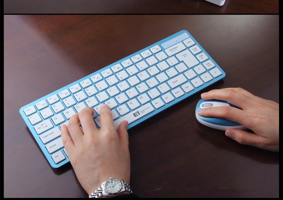 A-07 MINI Wireless keyboard and mouse set Kit 24G ultra-small business keyboard for hp laptop 1800dpi free shipping(China (Mainland))