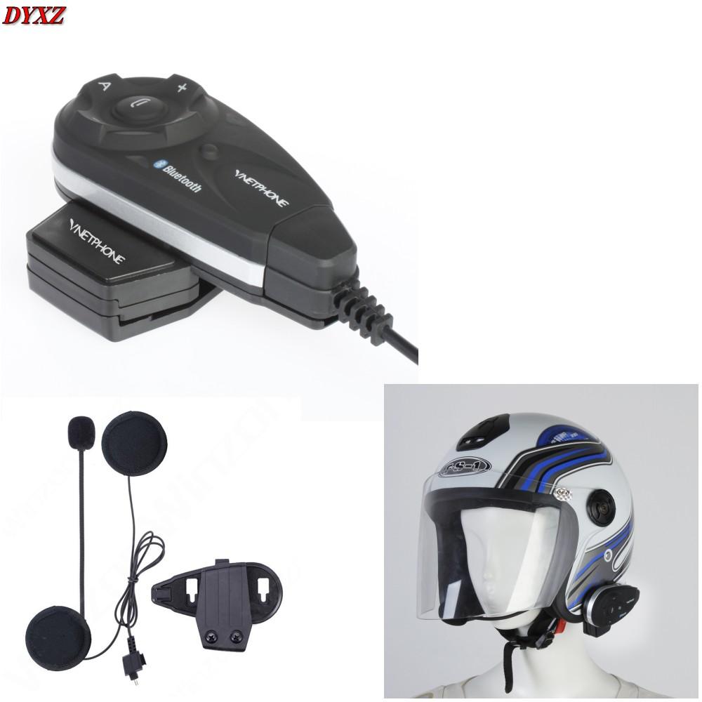 New 1200M Bluetooth Motorcycle helmet intercom BT Interphone headset Wireless headphones Support mp3 / GPS/ Phone for 5 Riders(China (Mainland))