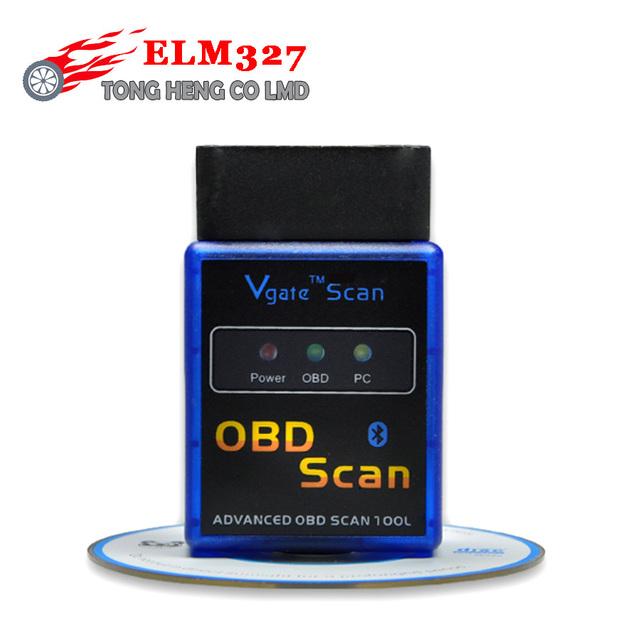 Lowest Price Vgate elm327 V2.1 obd2 Bluetooth vgate scanner OBD2 / OBDII mini elm 327 v2.1 support J1850 code Reader scanner