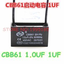 Buy 10Pcs/Lot CBB61+-5% 1uF 450V/AC CBB Capacitors Fan Start Capacitor Motor Start Capacitor for $2.96 in AliExpress store