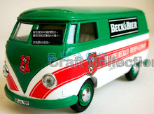 1:43 Volkswagen VW T1 Kombi Bus 1955 BECK'S BIER VITESSE Classic toys Scale Models Top Selling