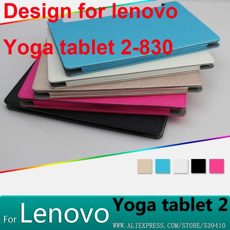 Luxury PU leather Cover case lenovo yoga tablet 2 830F 830L 8 inch cover + Screen protectors - Phone_cover Co.,Ltd store