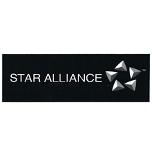 5PCS  STAR ALLIANCE Logo Sticker Water Proof for Car Motorcycle Luggage Fridge for Aviation Lover Pilot Flight Crew(China (Mainland))
