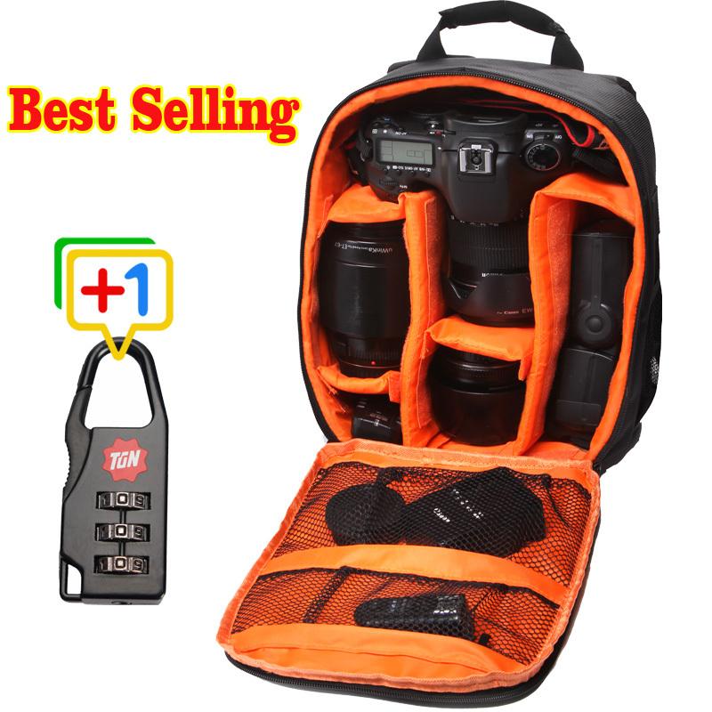 Best Selling Waterproof Medium Bag to Camera Bolsa Brand Designer DSLR Camera Backpack Professional Digital Camera Case Bag(China (Mainland))