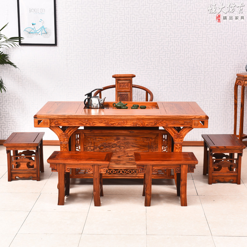 Buy Low Height Solid Coffee Table By Wood Dekor Online: Compare Prices On Chinese Carved Furniture- Online