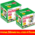 100 sheet Fujifilm Fuji Instax Mini 8 film for Fujifilm Instant Mini 7s 25 50s 90