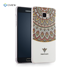 For Samsung Galaxy A5 2016 A5100 A510F Case High Quality 3D Relief Hard Plastic Phone Cover Cases Gift Glass Screen Protector
