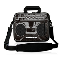 Boombox 17Laptop Soft Carry Sleeve Bag Case+Shoulder Strap,Pocket For 17 Dell Alienware m17x R3,Macbook Pro HP Compaq Sony VAIO<br><br>Aliexpress