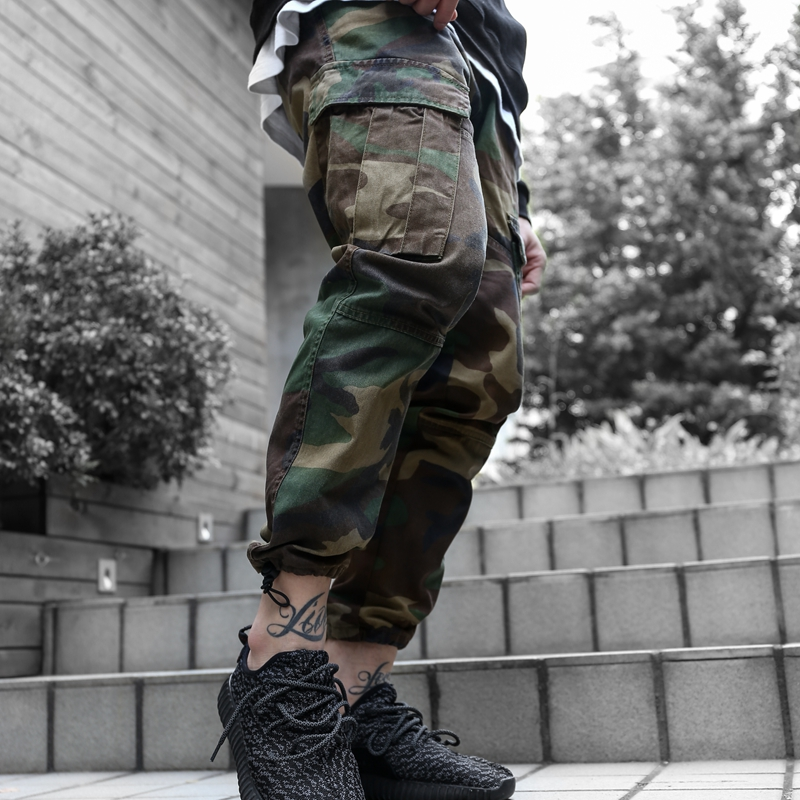 High Quality Men's Cargo joggers Pants Military for Men multi pocket Overalls tactical Army Trousers Camouflage fashion(China (Mainland))