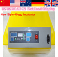 New Sale 1Pcs Home 48 Eggs Automatic Incubator Digital Temperature Control Turning Brooder Chichen Duck Eggs