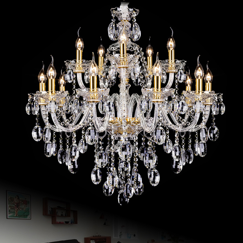 Buy chinese crystal chandelier modern Crystal candle chandelier
