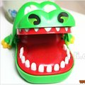 Free shipping New Novelty Items Children Gift Magic Crocodile Mouth Dentist Bite Game Toys Party Key