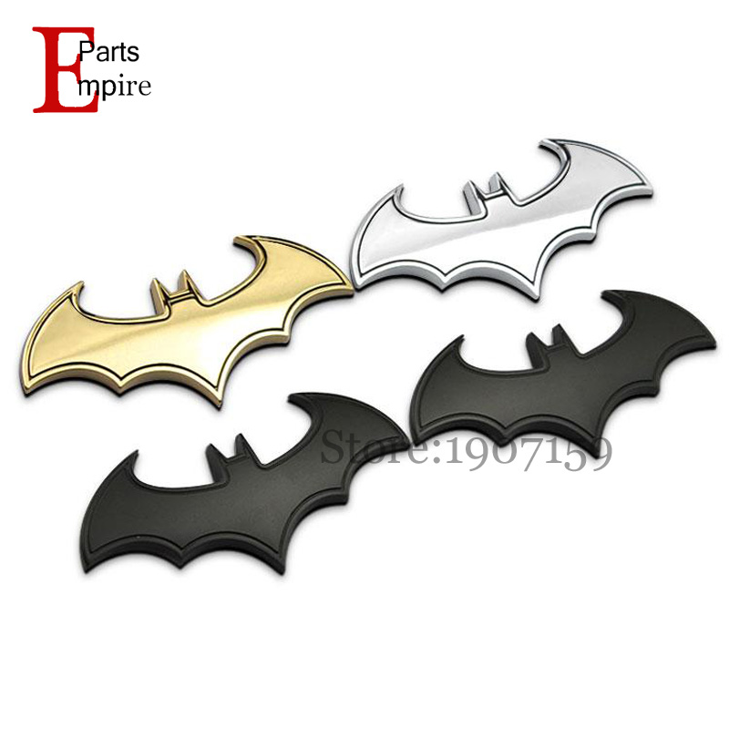 BATMAN Superhero VS Hulk Goku Chrome Metal Car Emblem 3D Sticker Badge Auto Decoration Vehicles Decals Hero Return Styling Logo